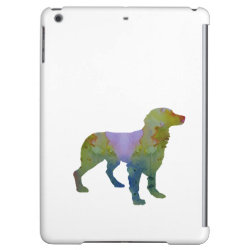 Case Savvy Glossy Finish iPad Air Case with Brittany Spaniel Phone Cases design