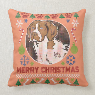 Brittany Spaniel Merry Christmas