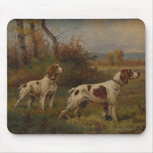 Brittany Spaniel Mouse Pad
