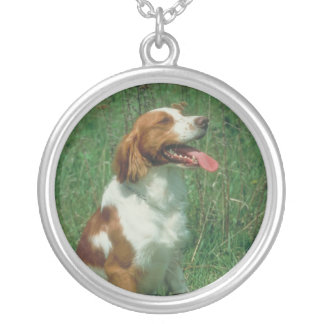 Brittany Spaniel Necklace