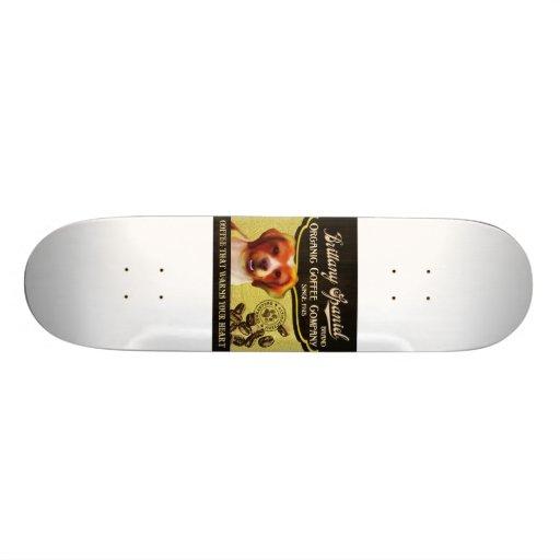 Brittany Spaniel – Organic Coffee Company Skateboard Decks