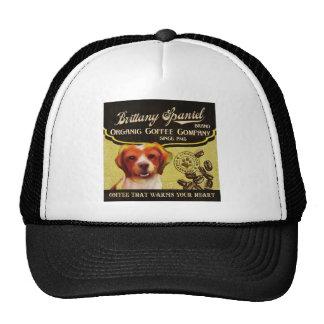 Brittany Spaniel – Organic Coffee Company Trucker Hat