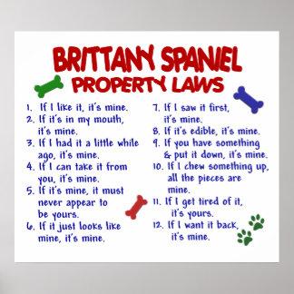 BRITTANY SPANIEL PL2 POSTER