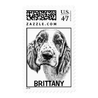 Brittany Spaniel Postage