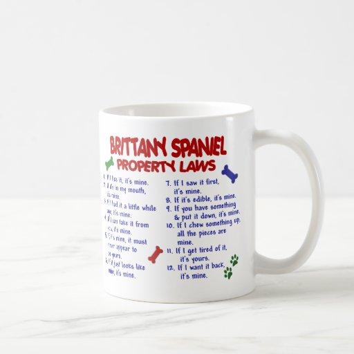 BRITTANY SPANIEL Property Laws 2 Coffee Mug