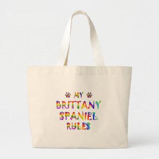 Brittany Spaniel Rules Fun Bag