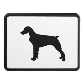 Brittany Spaniel Silhouette Love Dogs Silhouette Tow Hitch Cover