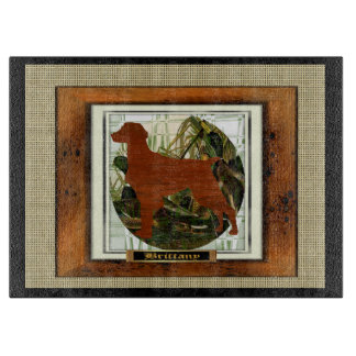 Brittany Spaniel Sporting Dog Cutting Board