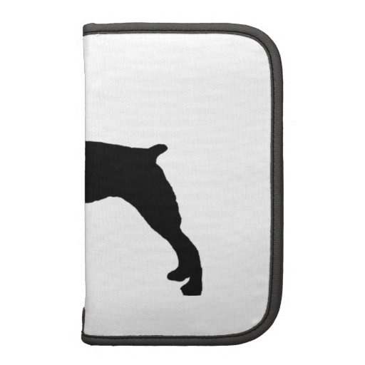 Brittany Spaniel sporting hunting dog Silhouette Planners