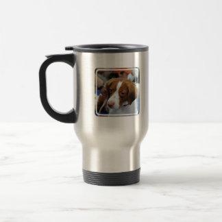 Brittany Spaniel Travel Mug