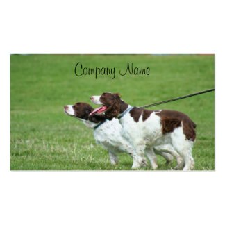 Brittany Spaniels business cards
