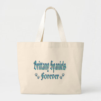 Brittany Spaniels Forever Canvas Bag