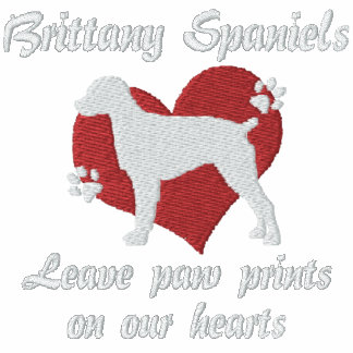Brittany Spaniels Leave Paw Prints