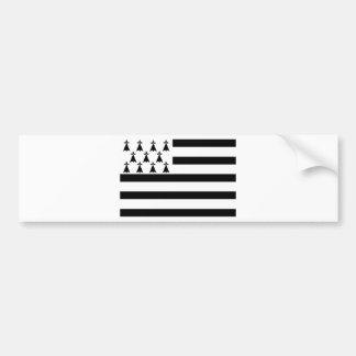 Brittany, the Celtic Nation of Breizh Bumper Sticker
