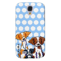 Case-Mate Barely There Samsung Galaxy S4 Case with Brittany Spaniel Phone Cases design