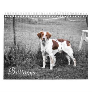 Brittanys Calendarios De Pared