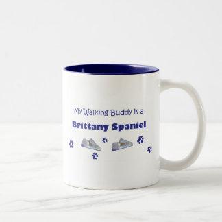 BrittanySpaniel Two-Tone Coffee Mug