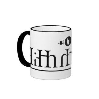 Brittish Serif Mug