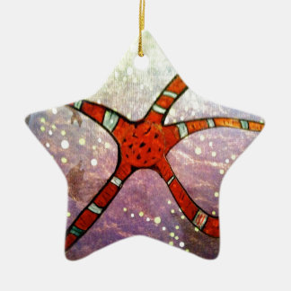 Brittle Star Christmas Tree Ornament