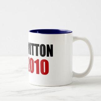 BRITTON 2010 Two-Tone COFFEE MUG