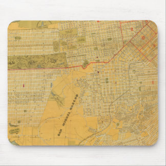 Britton and Rey's Guide Map Mouse Pad