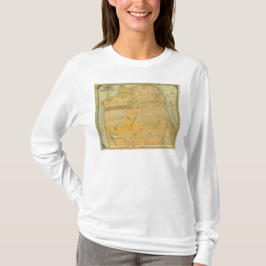 Britton and Rey's Guide Map T-Shirt