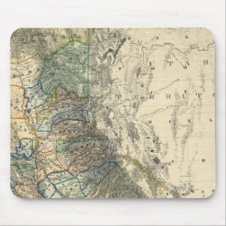 Britton and Rey's Map of California Mouse Pad