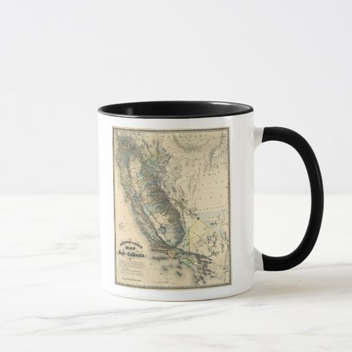 Britton and Rey's Map of California Mug