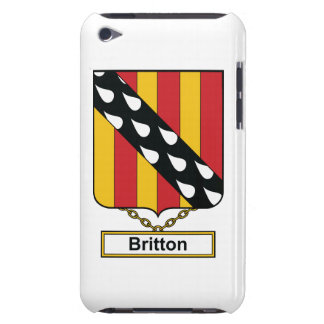 Britton Family Crest iPod Touch Cover