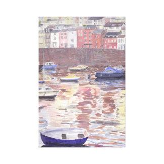 Brixham Harbour, Devon Canvas Print