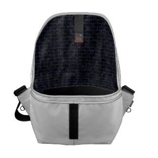 BRK1 BK-MRBL BL-LTHR COURIER BAG