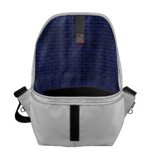 BRK1 BK-MRBL BL-LTHR (R) COURIER BAG