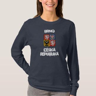 Brno, Ceska Republika with coat of arms T-Shirt
