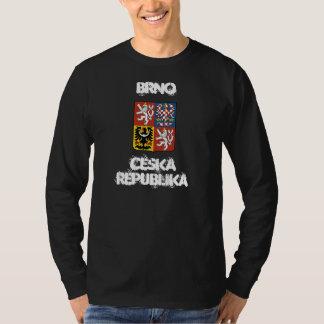 Brno, Ceska Republika with coat of arms Tee Shirt
