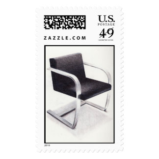 brno chair stamp