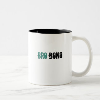 Bro Bono Two-Tone Coffee Mug