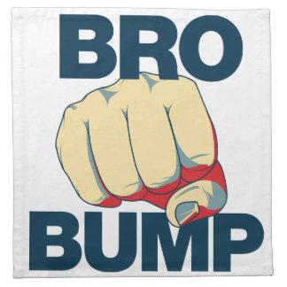 Bro Bump Funny mens Cloth Napkin