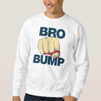Bro Bump Funny mens Pullover Sweatshirt