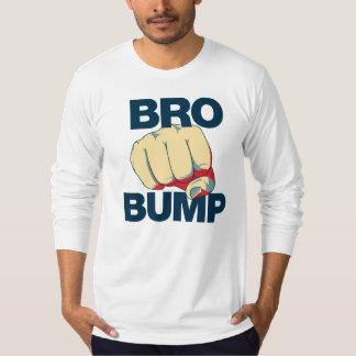 Bro Bump Funny mens Tee Shirt