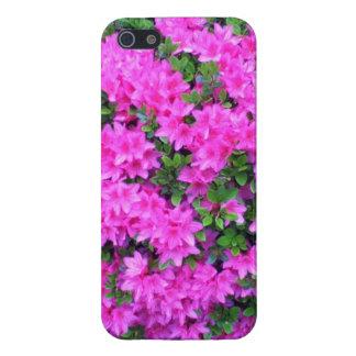 bro/chica agradables de la flor iPhone 5 carcasa