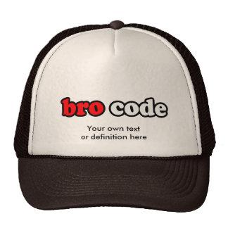 BRO CODE HAT