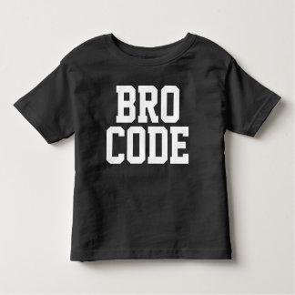 BRO CODE TODDLER T-SHIRT