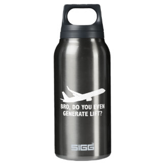 Bro, Do You Even Generate Lift? Insulated Water Bottle