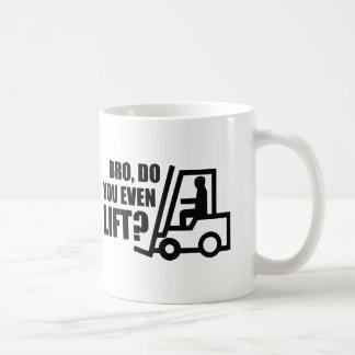 Bro, Do You Even Lift? Classic White Coffee Mug