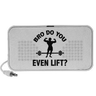 Bro, Do You Even Lift? Travel Speakers