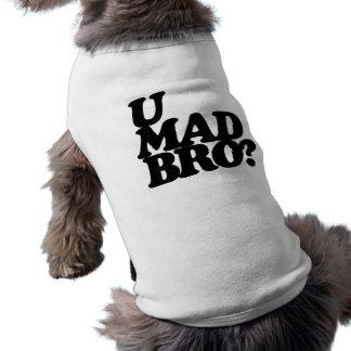 ¿bro enojado de u camiseta de mascota