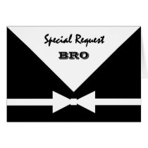 BRO - Special Request - Be My Best Man Card