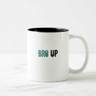 Bro Up Two-Tone Coffee Mug