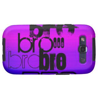 Bro; Vibrant Violet Blue and Magenta Samsung Galaxy SIII Cases