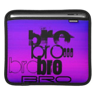 Bro; Vibrant Violet Blue and Magenta iPad Sleeves